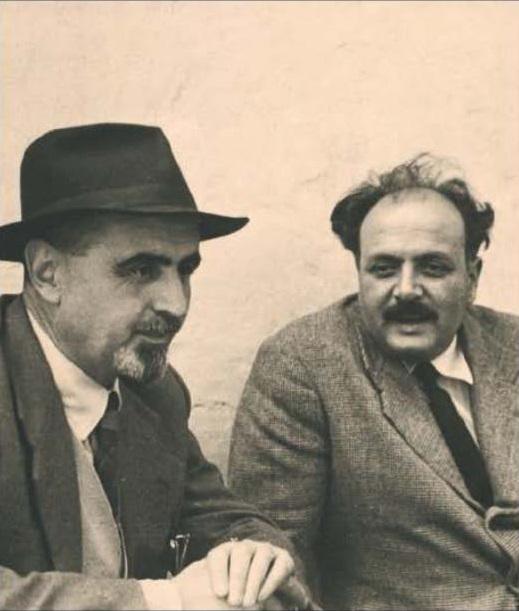 Altiero Spinelli ed Ernesto Rossi, autori del Manifesto di Ventotene