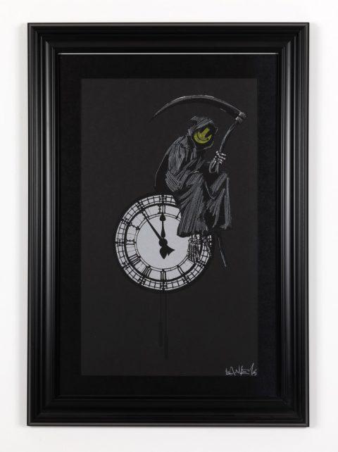 Banksy, Chalk Reaper, 2005