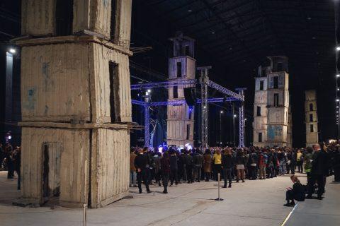Boredoms in concerto all'HangarBicocca, Milano 2016 – photo Delfino Sisto Legnani