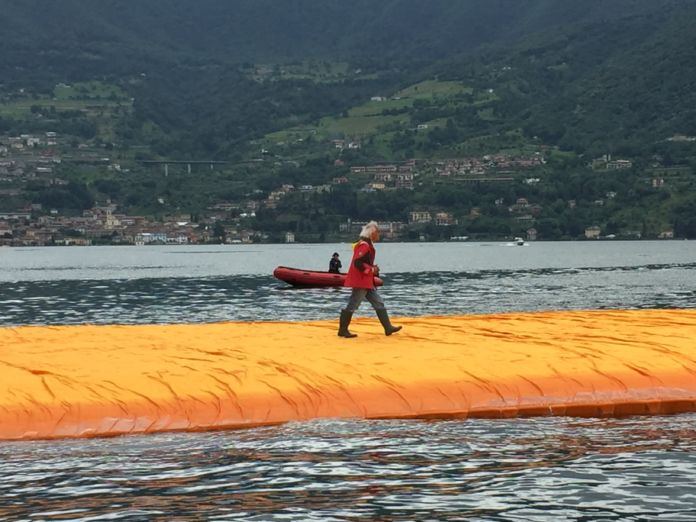 Christo, The Floating Piers, Lago d'Iseo