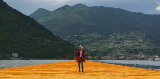 Christo, The Floating Piers, Lago d'Iseo (foto Anna Mattioli)
