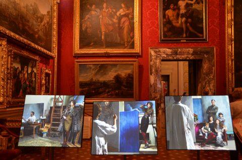 Karl Lagerfeld - Visions of Fashion, veduta della mostra, Palazzo Pitti, 2016