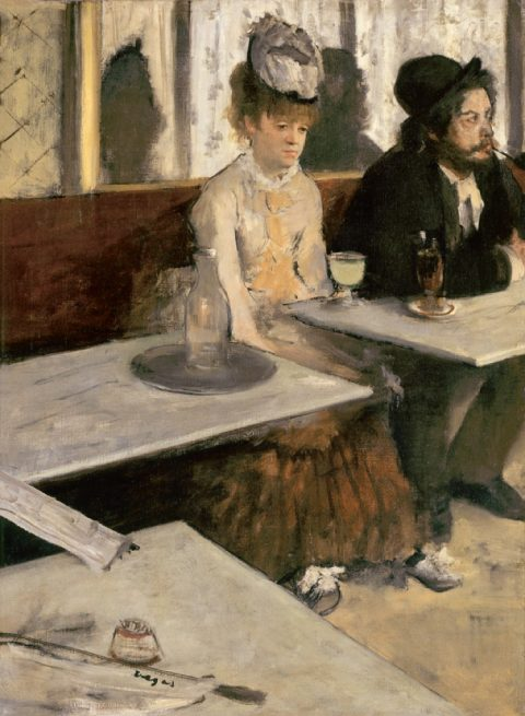 Edgar Degas, Absinthe, 1875-76 – Paris, Musée d'Orsay
