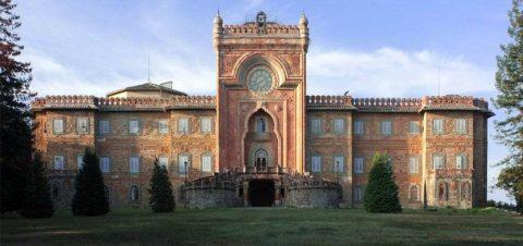 Castello di Sammezzano, la facciata