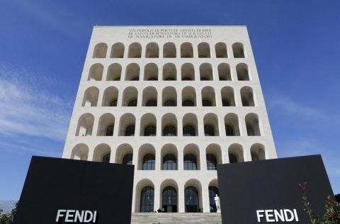 Fendi approda al Palazzo della Civilta Italiana di Roma