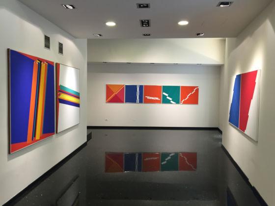 Franco Giuli - Anni Settanta - installation view at Arena Studio d'Arte, Verona 2016