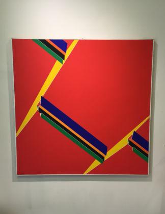 Franco Giuli, Strutture in rosso, 1972-74
