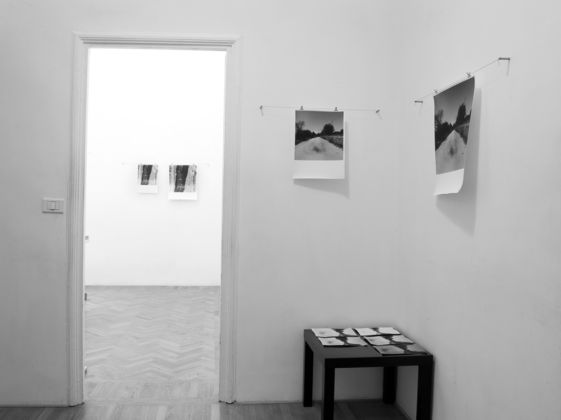 Germano Serafini – Camere Oscure - installation view at Interno14, Roma 2016