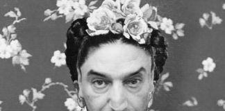 Gianni Romano come Frida Kahlo