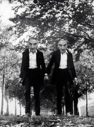 Gianni & Romano. Gemelli (Twins), 1968. Photomontage. Private Collection