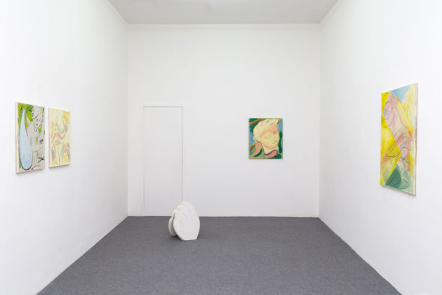 Grant Foster – Popular Insignia - installation view at Galleria Acappella, Napoli