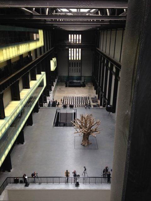 Tate Modern, Switch House, vista dell'allestimento