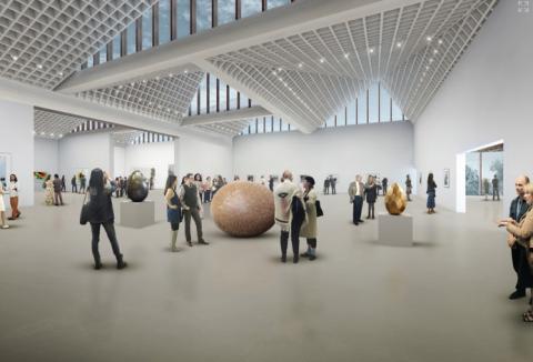 Adjaye Associates + AB3D - Progetto per il Museo d'Arte Contemporanea di Riga, Lettonia