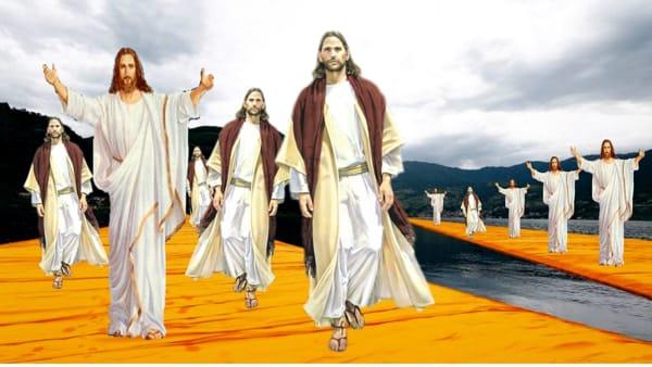 Immagine promozionale dell'evento Christo su Christo