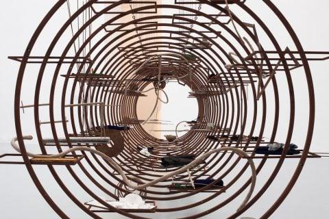 Iza Tarasewicz - installation view at Zacheta Gallery, Varsavia 2015