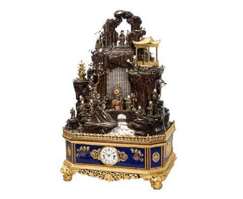 L'orologio cinese da tavolo che ha stabilito il record Auctionata
