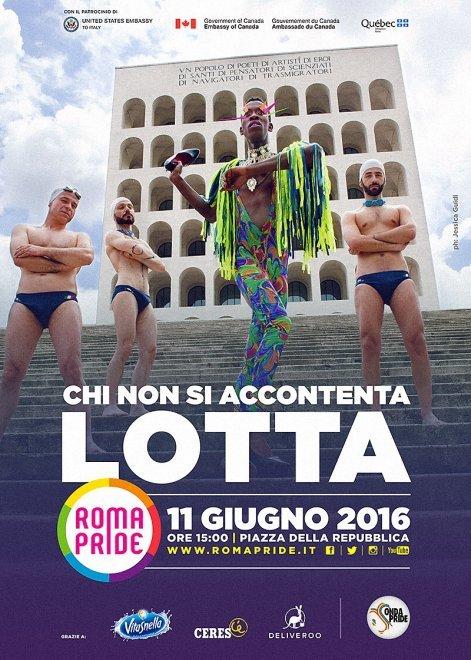 La campagna di Roma Pride 2016