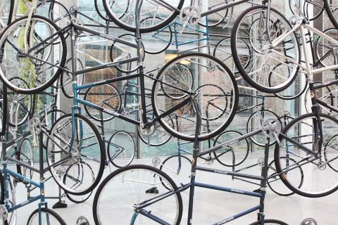 Megacities Asia - Ai Weiwei - installation view at Museum of Fine Art, Boston 2016