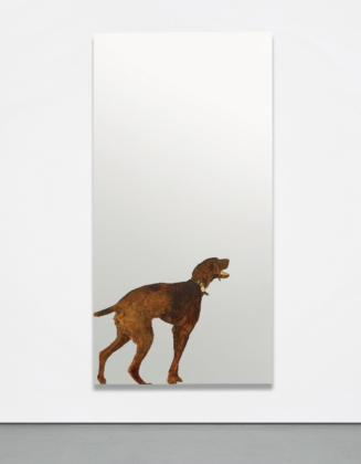 Michelangelo Pistoletto, Violet Dog, 1968