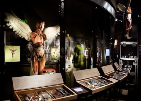 Nirvana: Taking Punk to the Masses Gallery. Courtesy of Christopher Nelson via EMP Museum