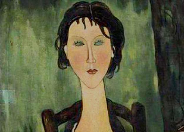 Odette, il presunto ritratto di Modigliani