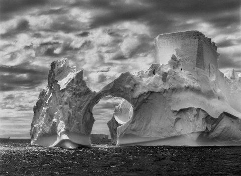 PLANET JUG / PLANET SOUTH Iceberg between Paulet Island and the South Shetland Islands in the Weddell Sea. Antarctic Peninsula. 2005. ©Sebastião Salgado. Amazonas Images