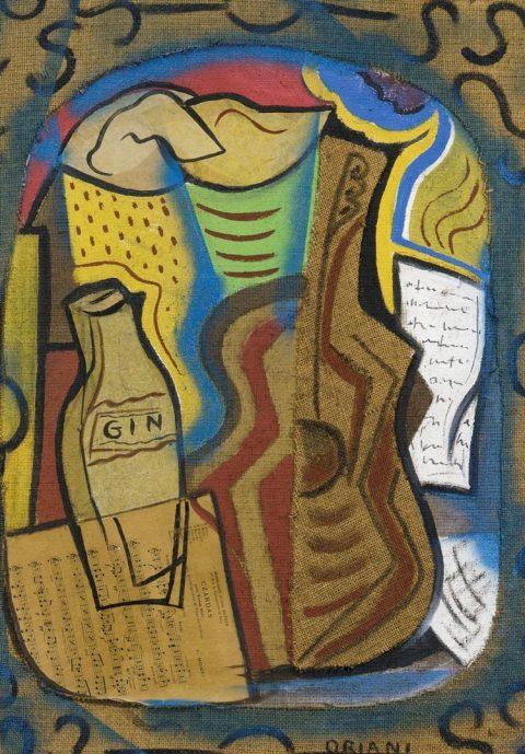 Pippo Oriani, Ricordi di Parigi, 1960