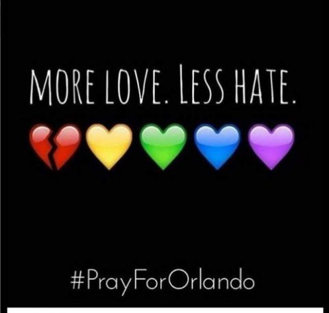 Post di solidarietà per le vittime di Orlando