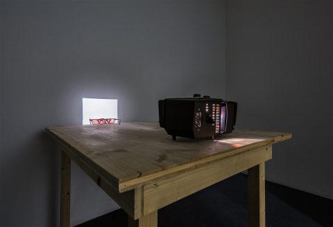 Roman Signer – Films and Installations - installation view at MAN, Nuoro 2016 - photo Confinivisivi