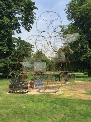 Yona Friedman, Summer House, 2016, Kensington Gardens, Londra, ph credit Marta Atzeni