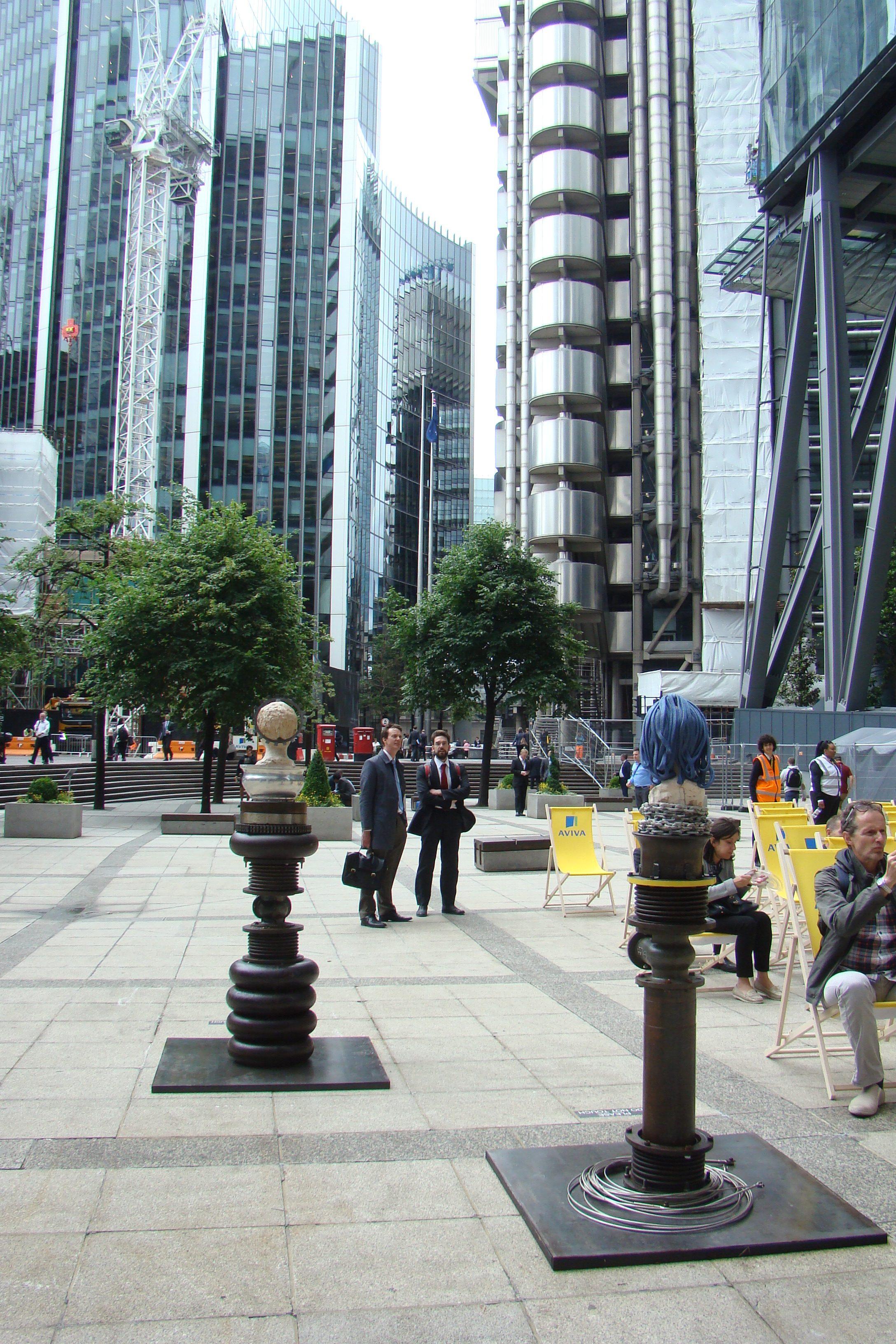Sculpture in the City 2016, Londra - Benedetto Pietromarchi