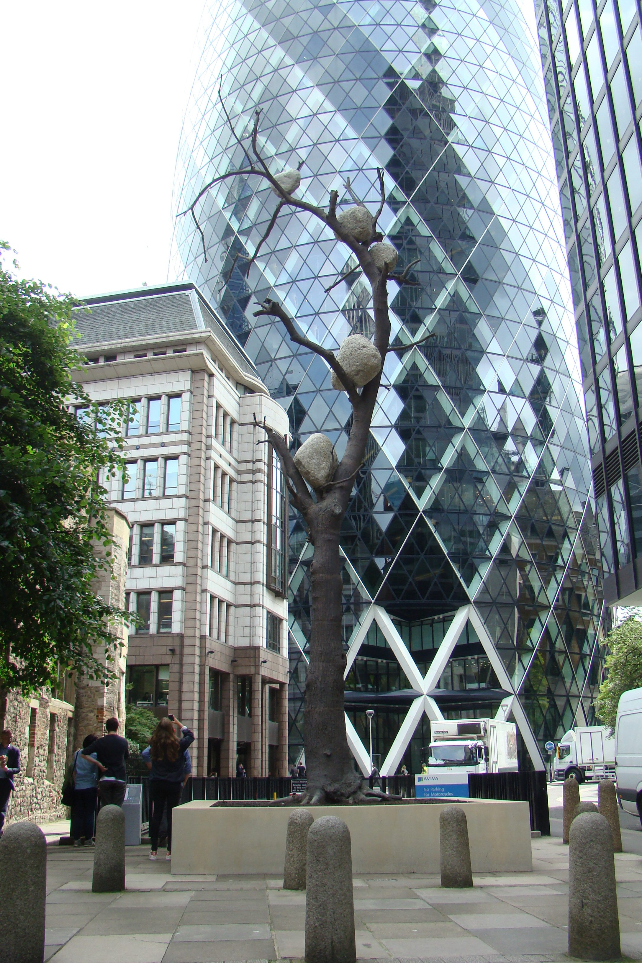 Sculpture in the City 2016, Londra - Giuseppe Penone