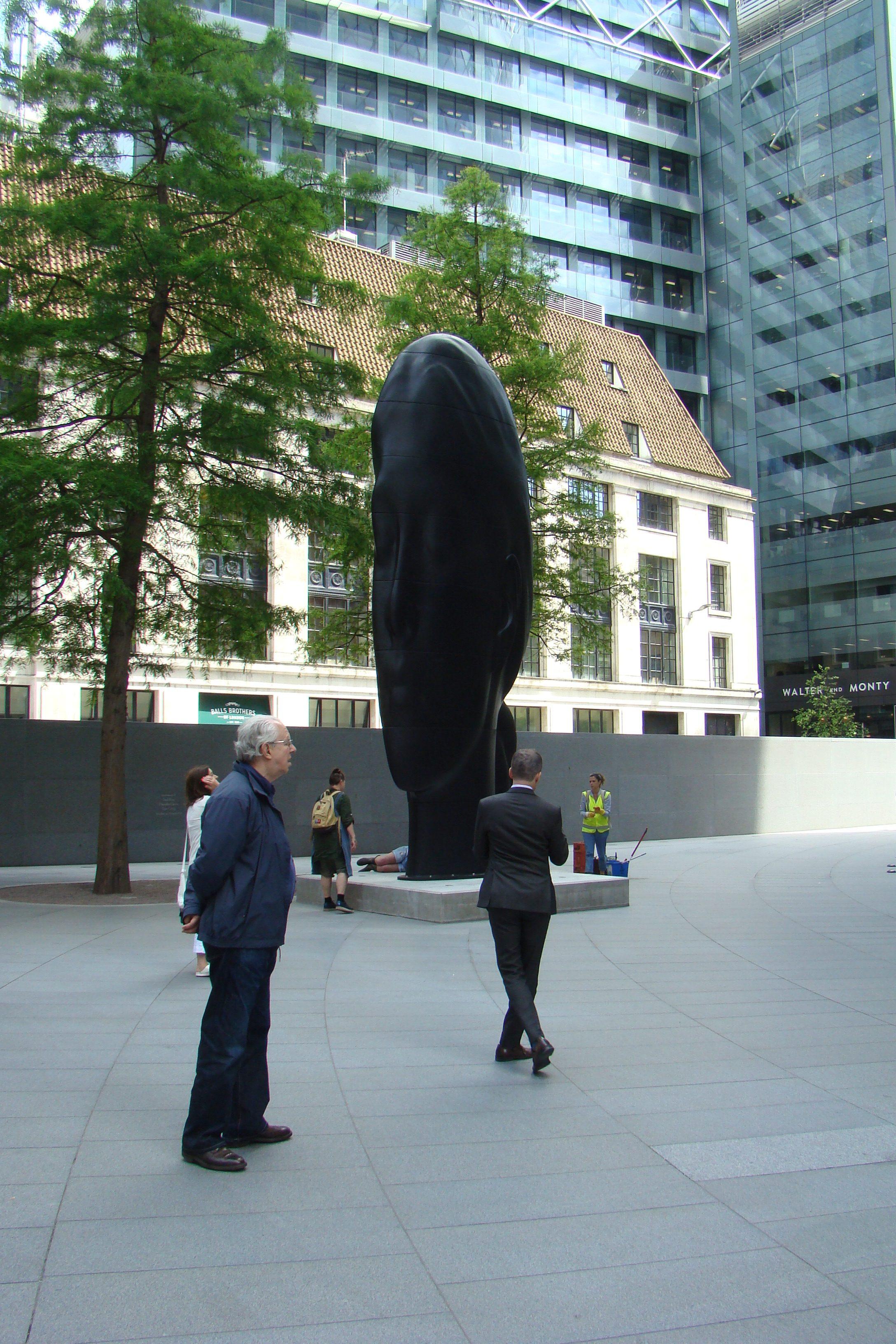 Sculpture in the City 2016, Londra - Jaume Plensa