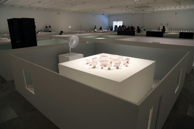 Studio Nendo - The Shade in Between - installation view at Design Museum Holon, 2016