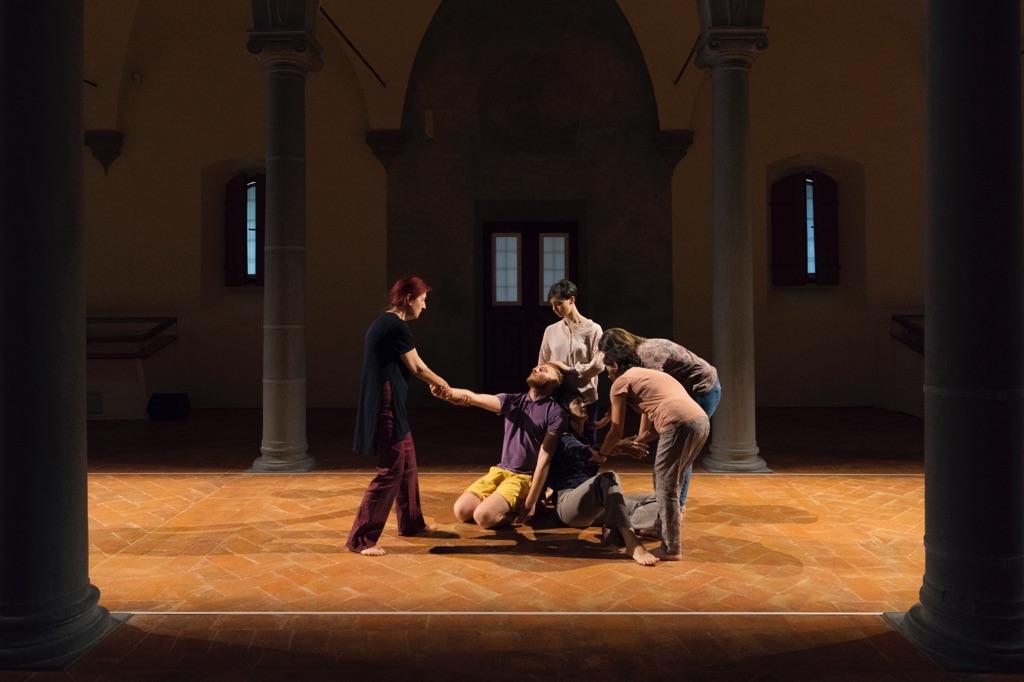 Virgilio Sieni, Cenacoli Fiorentini #6_Grande Adagio Popolare, 2016 - photo Ela Bialkowska-OKNOstudio