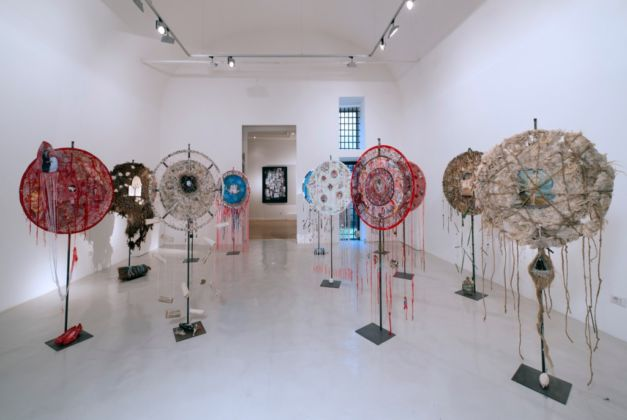 Virginia Ryan – I Will Shield You - installation view at Montoro12 Contemporary Art Gallery, Roma 2016 - photo Alessandro Vasari