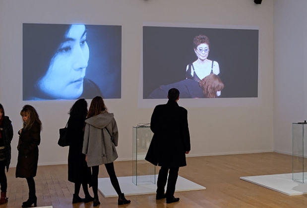 Yoko Ono - Lumière de l'aube - installation view at MAC, Lione 2016 - photo Blaise Adilon