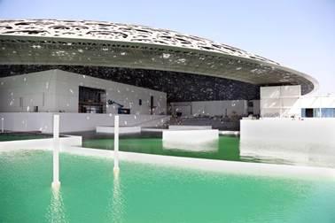 Ateliers Jean Nouvel, Louvre Abu Dhabi, Foto courtesy of Abu Dhabi Tourism & Culture Authority