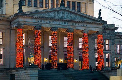 Ai Weiwei, installazione alla Konzerthaus di Berlino, 2016