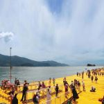 Christo, The Floating Piers, Lago d'Iseo (foto Daniele Capra)