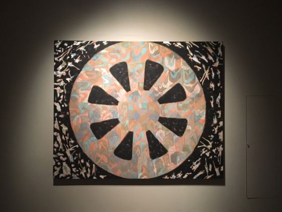 Francesco Clemente, Wheel of Fortune, 2013-14 - photo Gino Pisapia