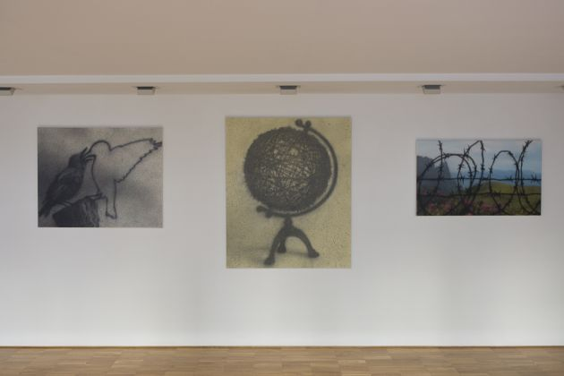 Freedom as Form - installation view at Wunderkammern, Milano 2016