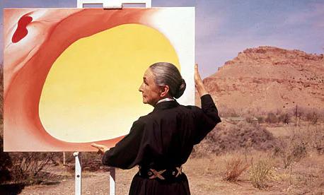 Georgia O'Keeffe ritratta da Tony Vaccaro, 1960