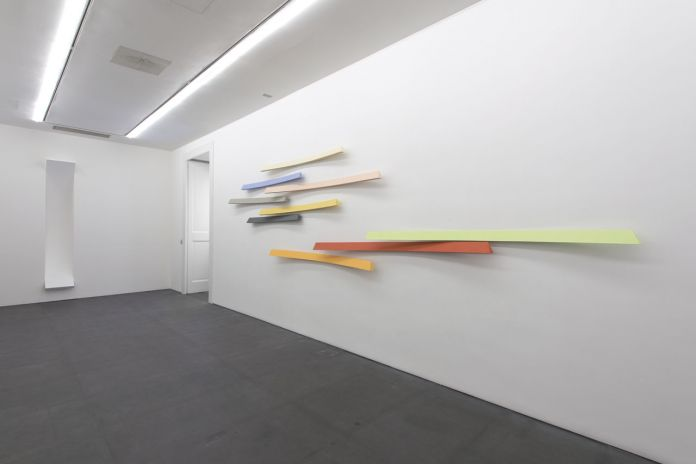 Giuliano Dal Molin - installation view at Galleria Lia Rumma, Napoli 2016