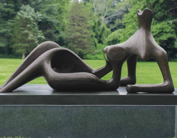 Henry Moore, Reclining Figure: Festival, 1951