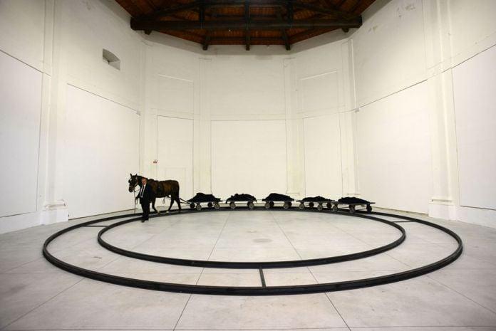 Jannis Kounellis - Centro Arti Visive Pescheria, Pesaro 2016 - photo Michele Alberto Sereni