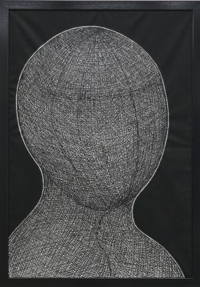 Klaus Rinke, Man in the net, 2016