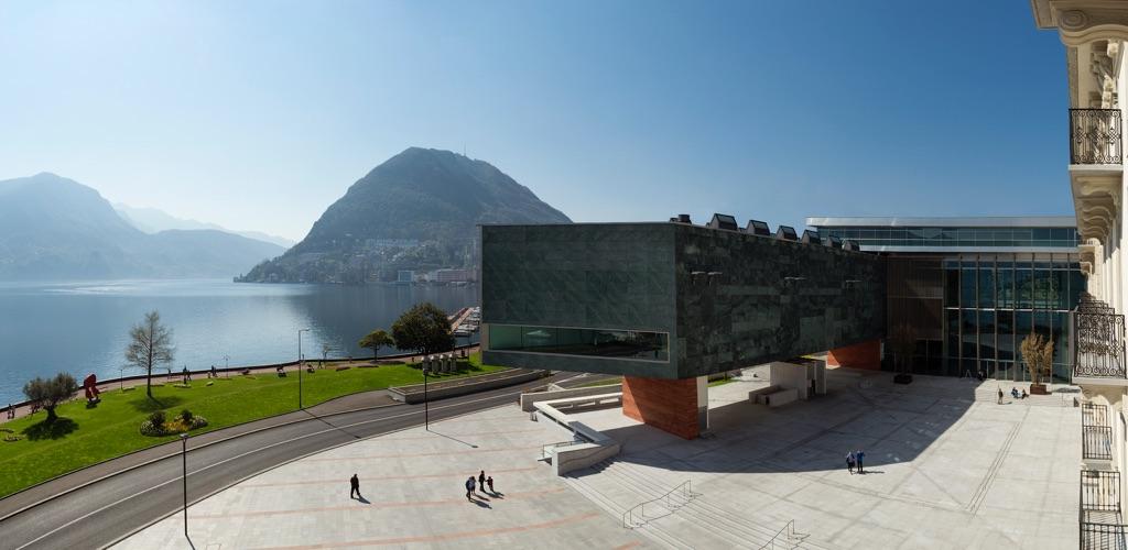 LAC, Lugano - esterno panoramico ©LAC 2015 - photo Studio Pagi