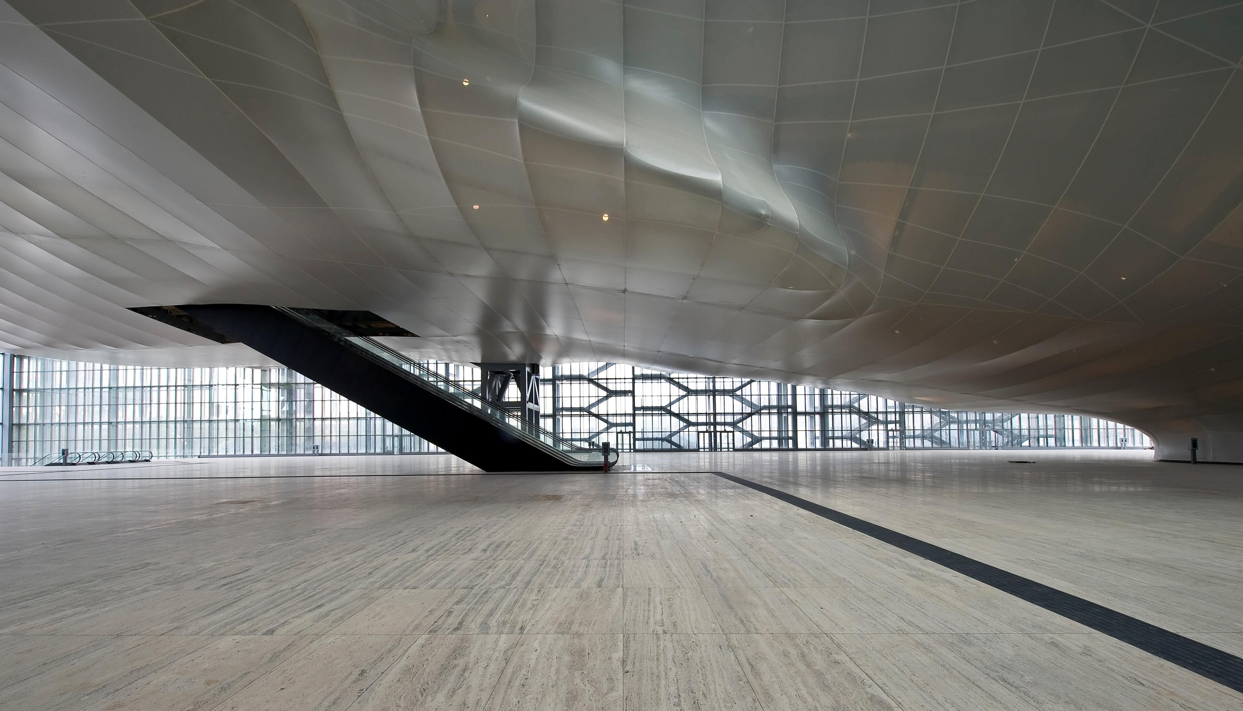 """La """"Nuvola"""", Centro Congressi all'Eur, Roma - progetto Massimiliano Fuksas, ph credit Moreno Maggi"""