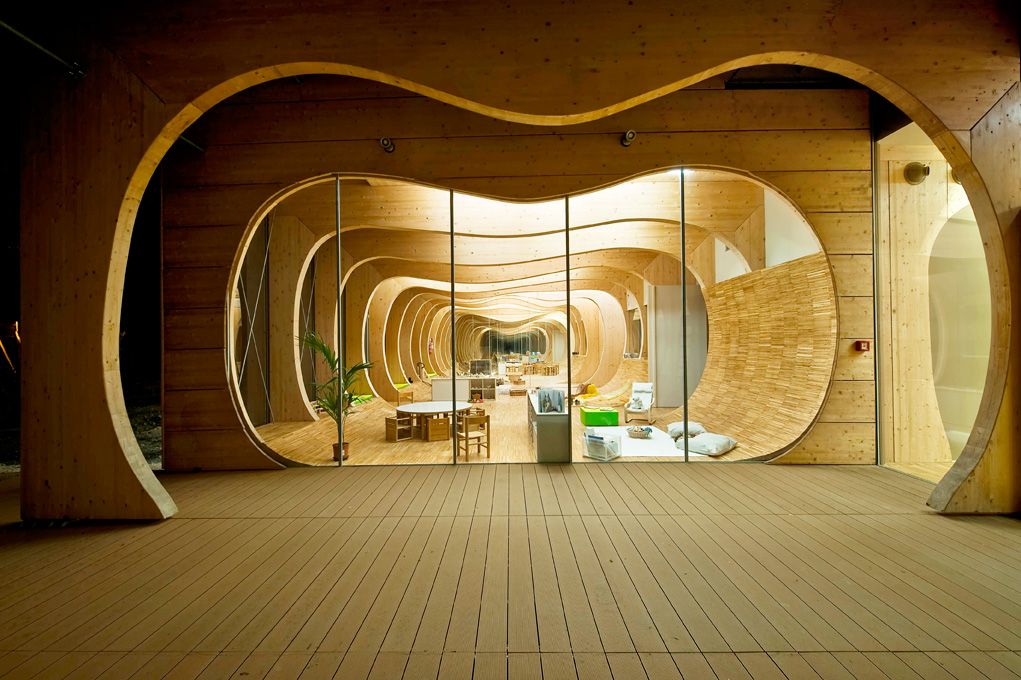 Mario Cucinella Architects, Nido d'infanzia, Guastalla 2014-15 - photo Moreno Maggi